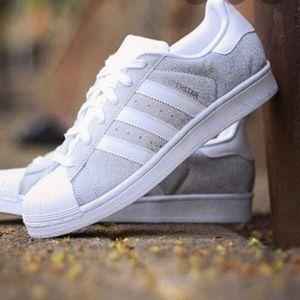 Adidas   Grey Superstars